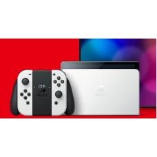 Nintendo Switch OLED (Λευκά Joy-Con)
