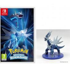 Pokemon Brilliant Diamond με pre-order bonus Dialga Figurine (Switch)