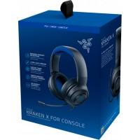 Razer Kraken X PS4/PC (Black/Blue) Analog Gaming headset
