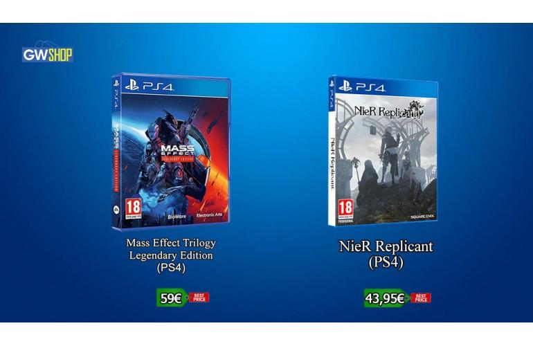 Mass Effect Legendary Edition & NieR Replicant